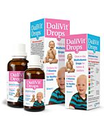 DaliVit Multivitamin Oral Drops for Babies & Toddlers