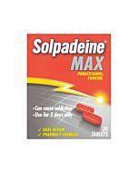 Solpadeine Max - Max Strength Paracetamol & Codeine - 30 Tablets