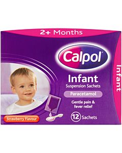 Calpol Infant Sachets Original - 12X5ML