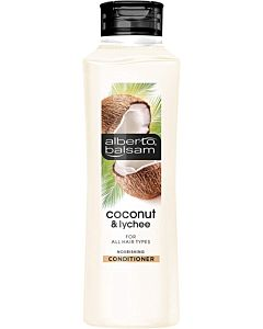 Alberto Balsam Coconut & Lychee Nourishing Conditioner - 350ml