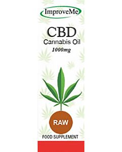 Improve-Me CBD Oil – 1000mg – Raw