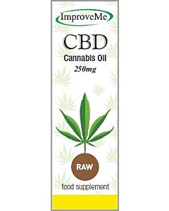 Improve-Me CBD Oil – 250mg – Raw