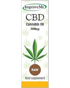 Improve-Me CBD Oil – 500mg – Raw