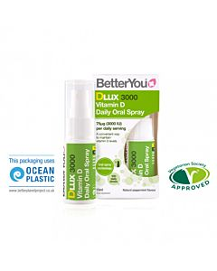 BetterYou DLux 3000 Vitamin D Oral Spray