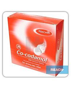 Co-codamol effervescent tablets