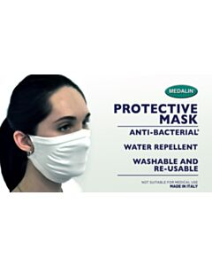 Medalin Washable and Reusable Protective Face Mask - Non-medical