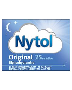 Nytol Original 25mg - 20 Tablets