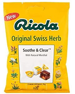 Ricola Soothe & Clear Original Swiss Herb