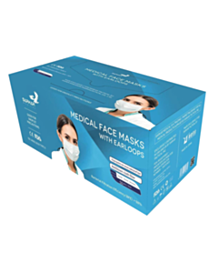 Sarkar Medical Type IIR Medical Face Mask - Box of 50 Masks