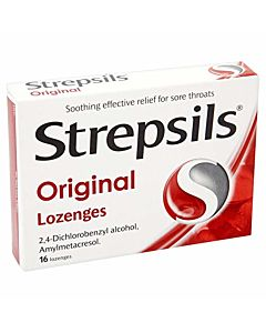 Strepsils Original Lozenges - 16 Pack