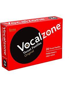 Vocalzone Original Flavour Pastilles - 24 Pack