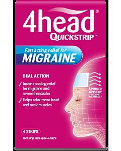 4Head Quickstrips - 4 Strips