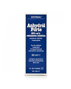 Anhydrol Forte Roll On 20% w/v Cutaneous Solution - 60ml