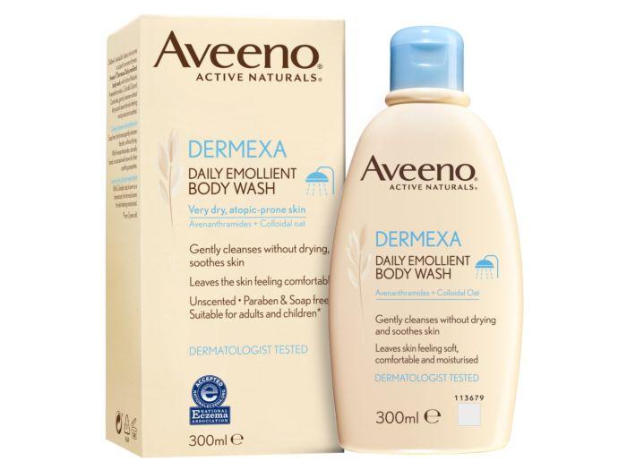 Aveeno Dermexa Daily Emollient Bodywash - 300ml