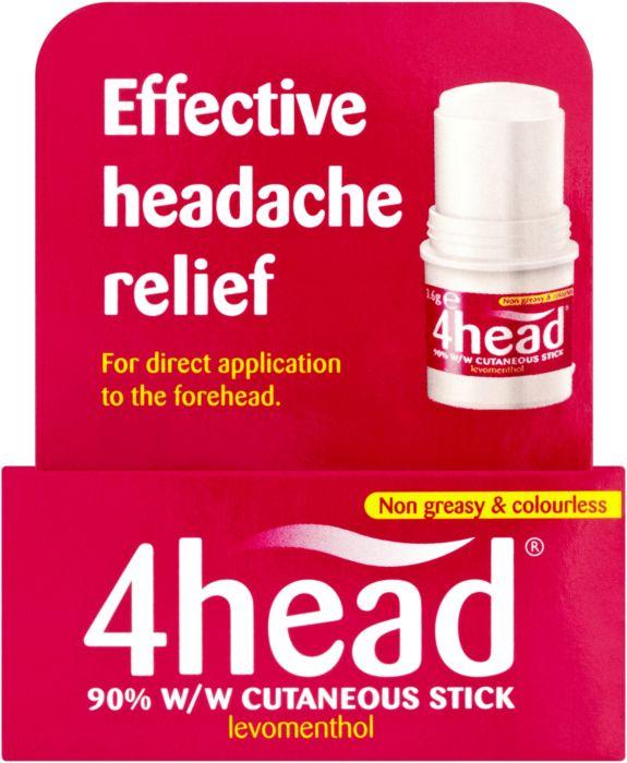 4Head Cutaneous  Stick - 3.6g