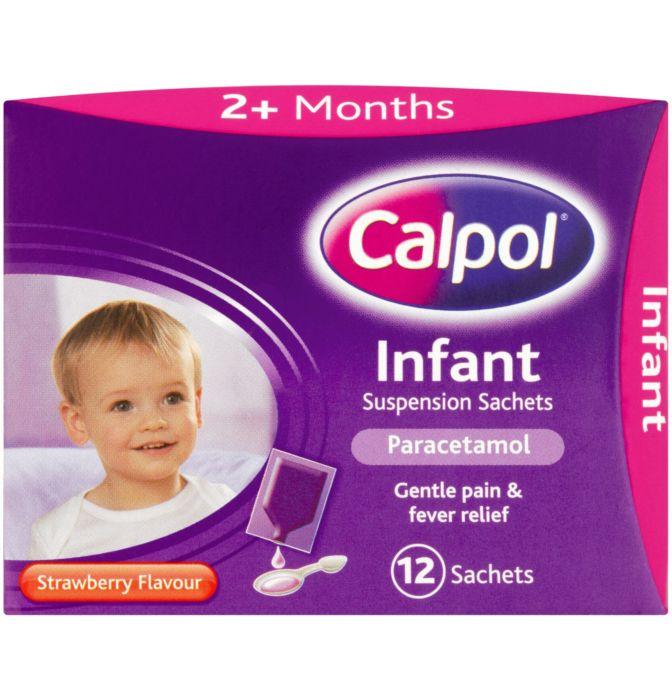 Calpol Infant Sachets Original - 12X5ML