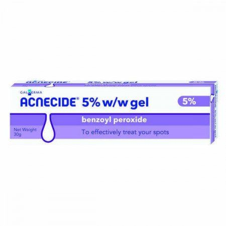 Acnecide 5% w/w Benzoyl Peroxide Gel – 30g