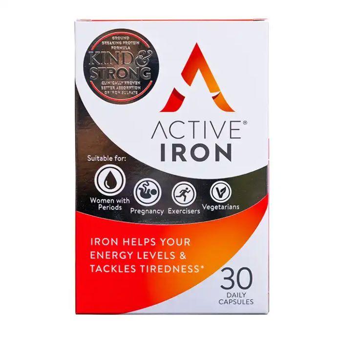 Active Iron Capsules - 30 Capsules