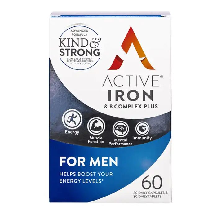 Active Iron & Vitamin B Complex For Men