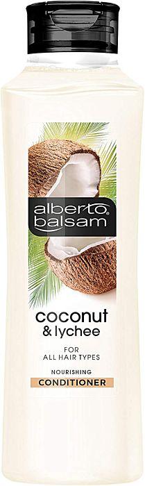 Alberto Balsam Coconut & Lychee Nourishing Conditioner