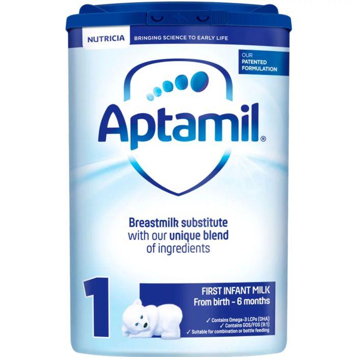 Aptamil 1 First Milk Baby Formula Powder - 800g