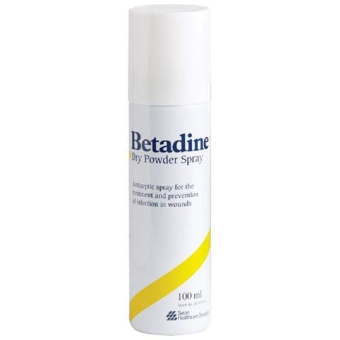 Betadine Dry Powder Antiseptic Spray - 100ml