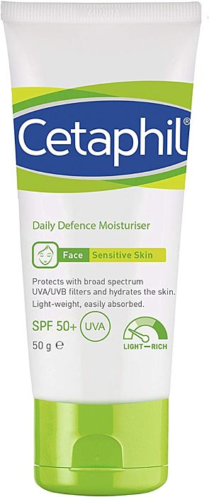 Cetaphil Daily Defence Moisturiser with SPF50+ - 50g