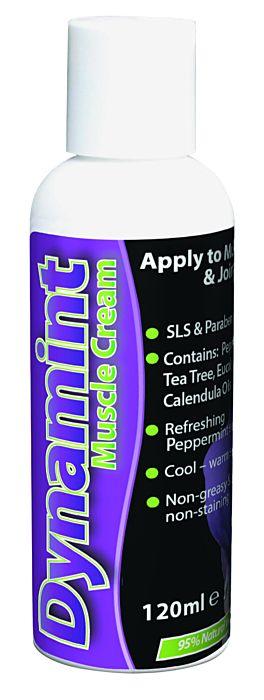 Dynamint Muscle Cream 120ml bottle