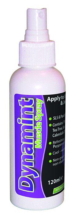 Dynamint Muscle Spray Bottle