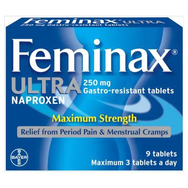 Feminax Ultra - Period Pain Relief - 9 Tablets