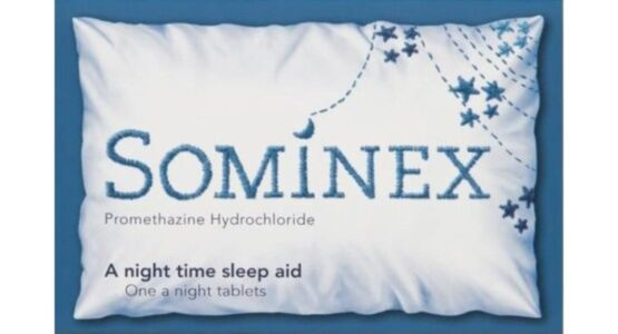 Sominex Sleeping Aid Tablets - Promethazine Hydrochloride - 16 Tablet Pack