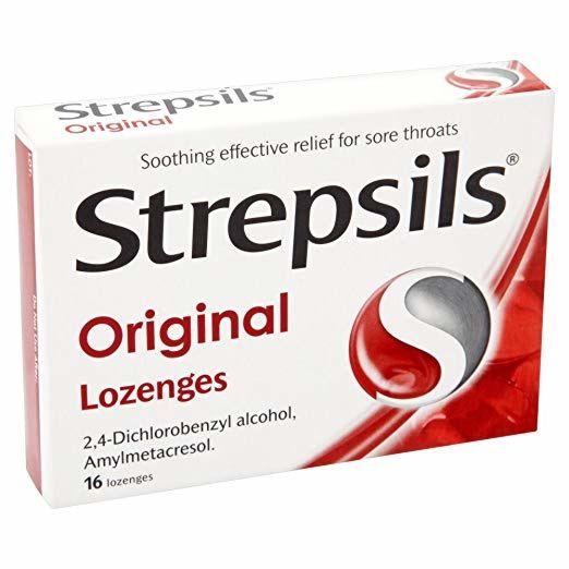 Strepsils Original Lozenges - 16 Pack