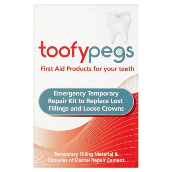 Toofypegs Dental Temporary Repair Kit