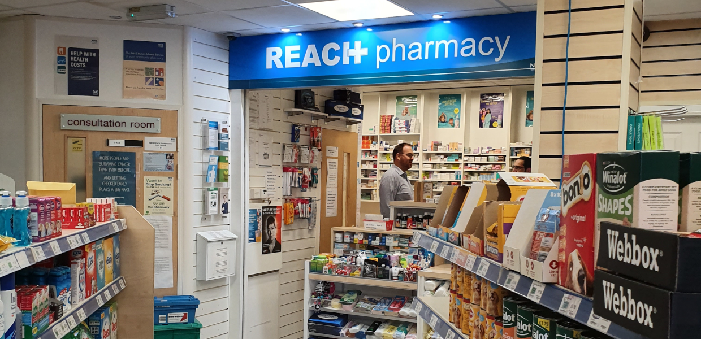 Reach Pharmacy Howwood inside